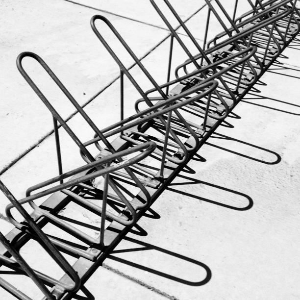 pattern bike rack