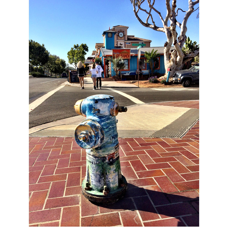 scenic fire hydrant