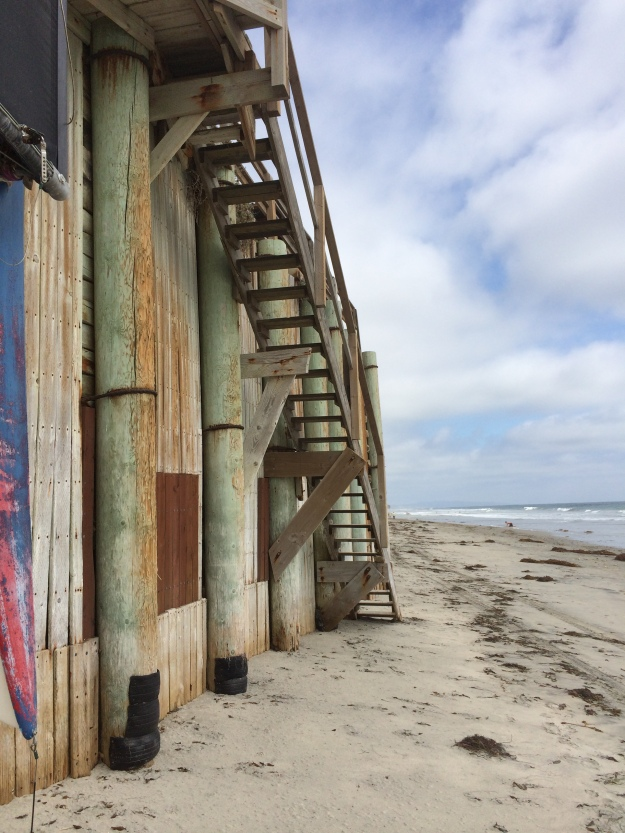 beach wall