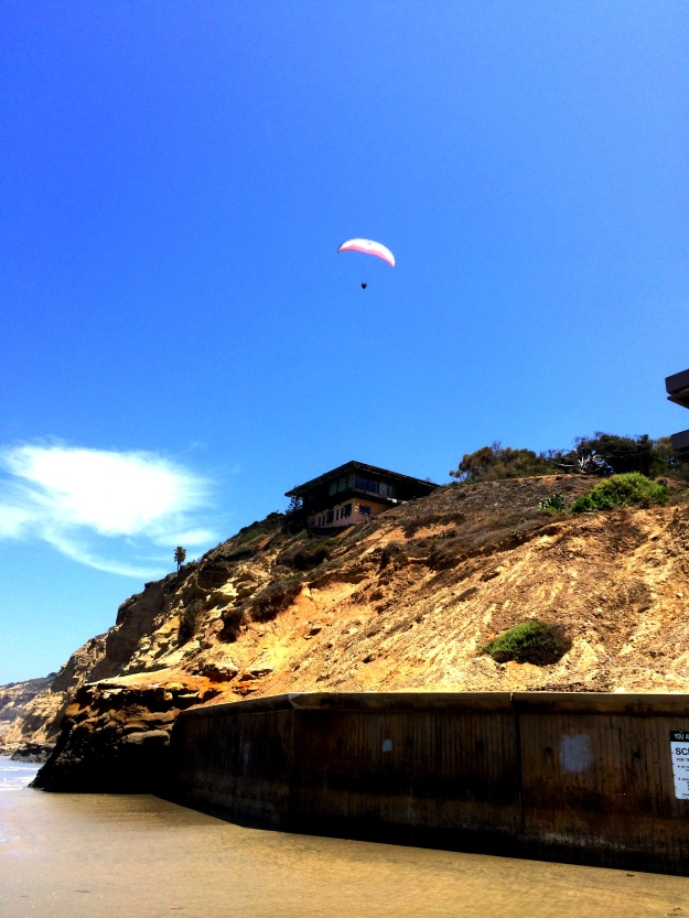 glider at La Jolla Shores