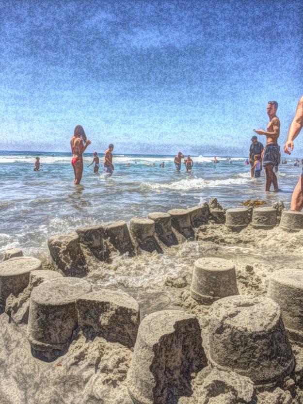 beach castles