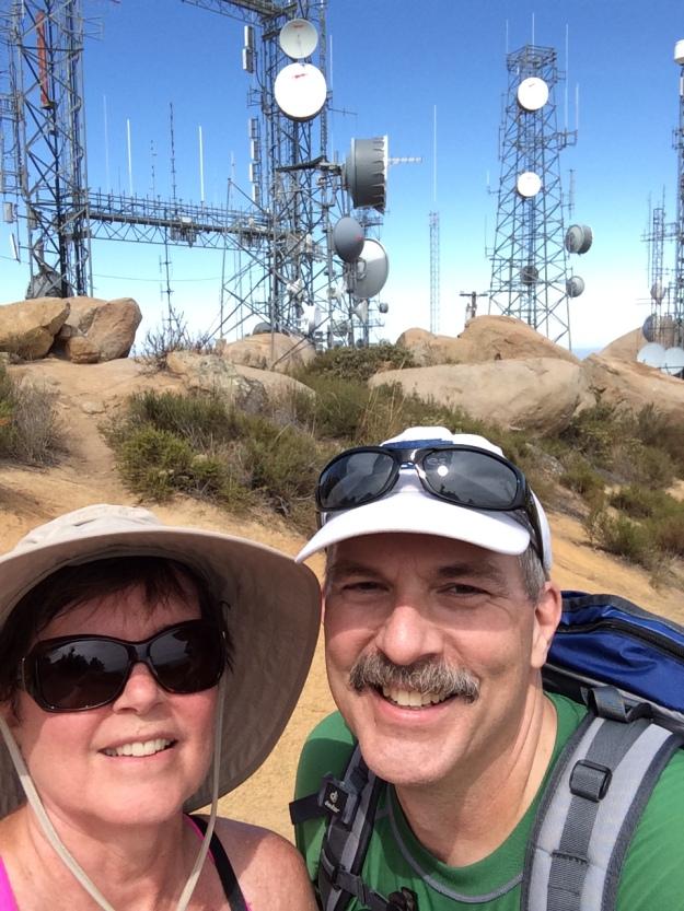 Selfie Mt Woodson