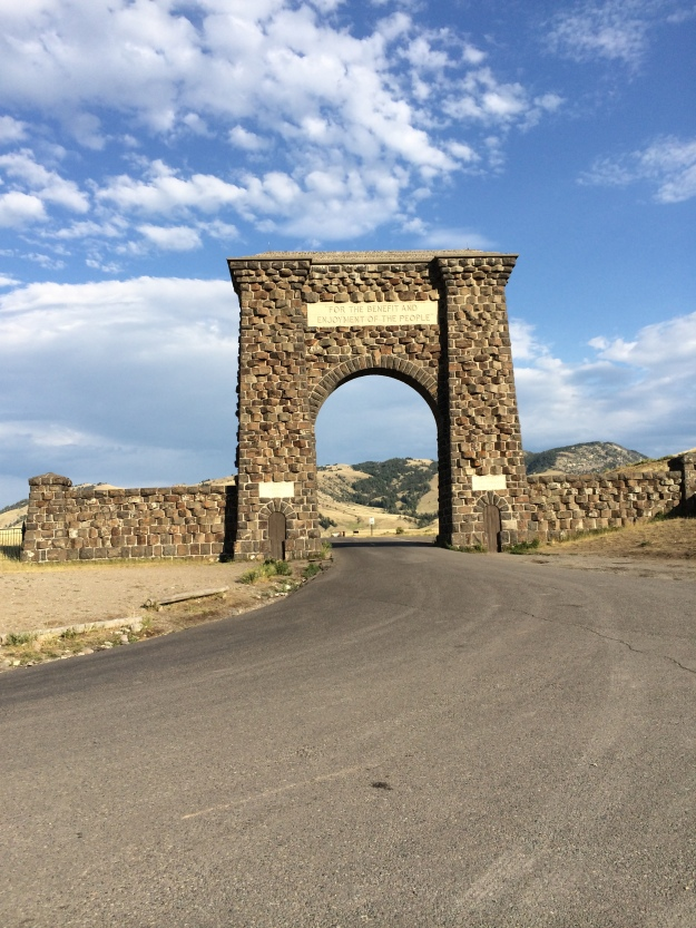 arch at yellowstone
