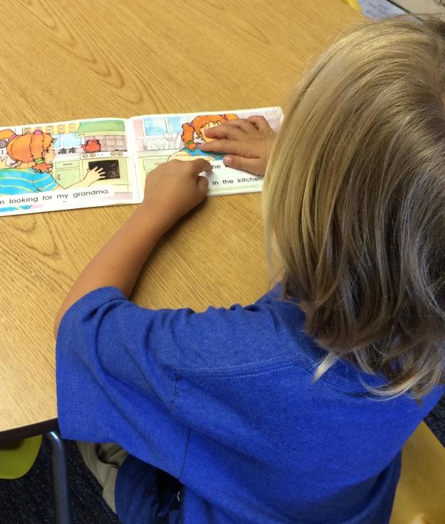 first grade reader