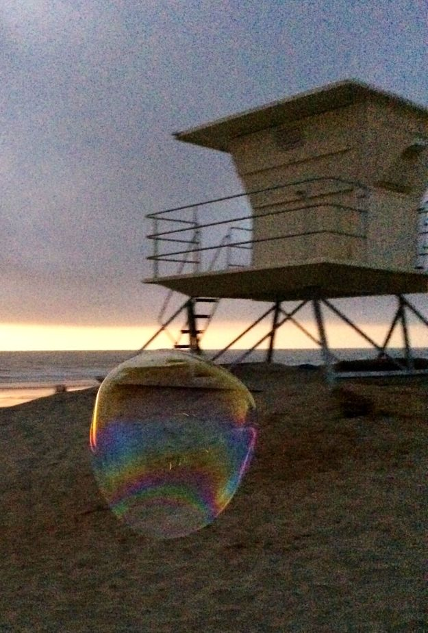 lifeguard tower bubble