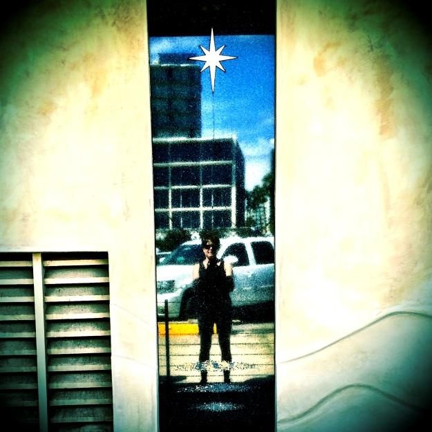 star window selfie