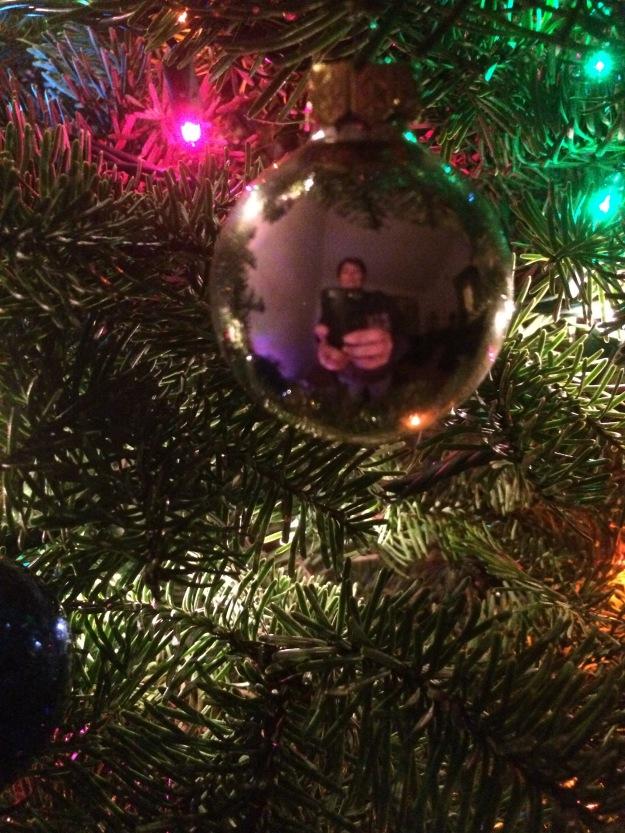 ornament selfie