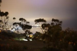 night scene blur