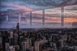 chicago through the window