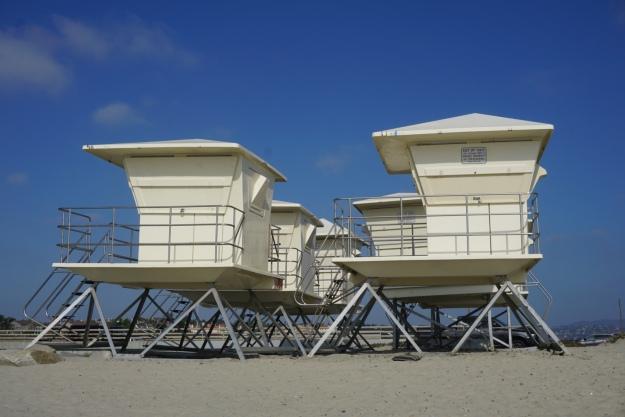 lifeguard towers