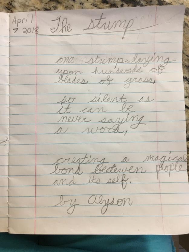 alysons poem