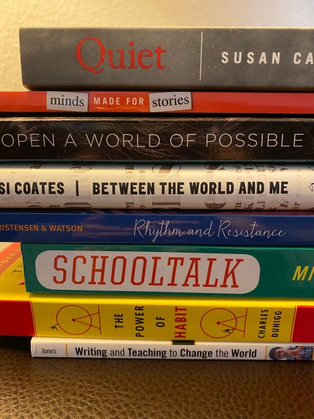 Book Spine Poetry Mrs D